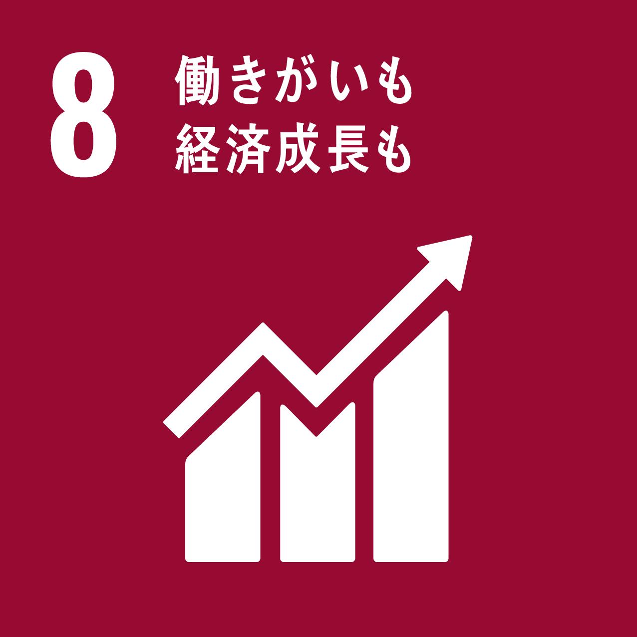 SDGsの8つ目の目標