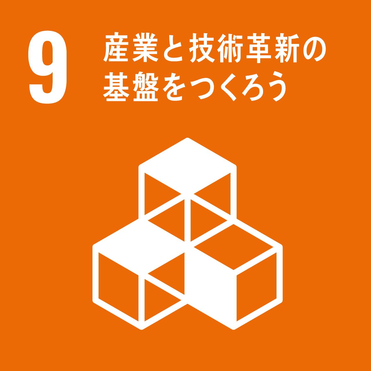 SDGsの9つ目の目標